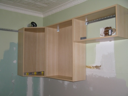 Wall Cabinet Dry Fit