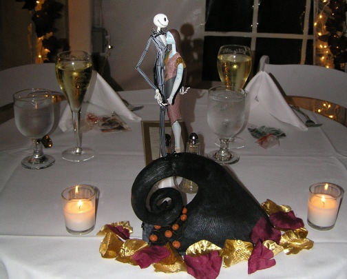 Images about nightmare before christmas wedding