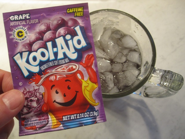 Mixed Drink That Tastes Like Grape Kool Aid
