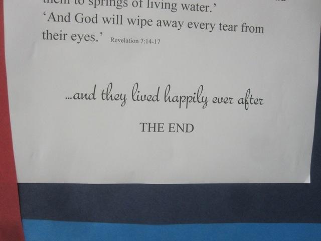 Good ending.