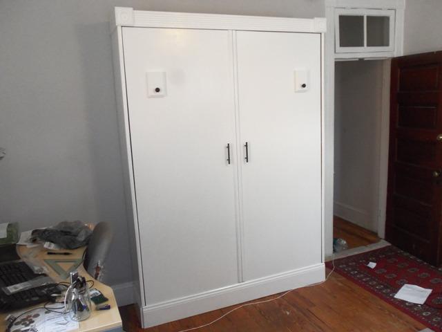 It looks like a wardrobe.