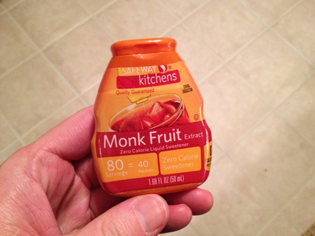 monk fruit extract fruit list