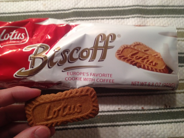 Apparently, it's Europe's favorite cookie with coffee.