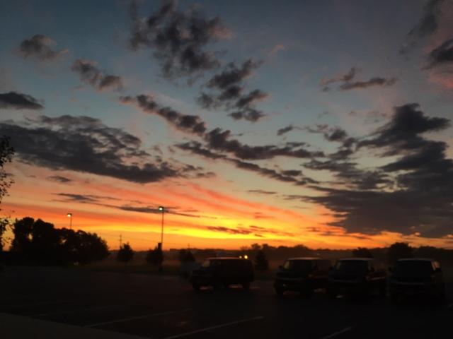 Blurry, but beautiful.