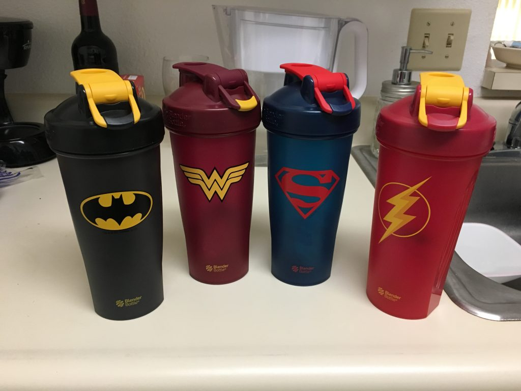 I now have two Superman bottles, but you can't have too much Superman...