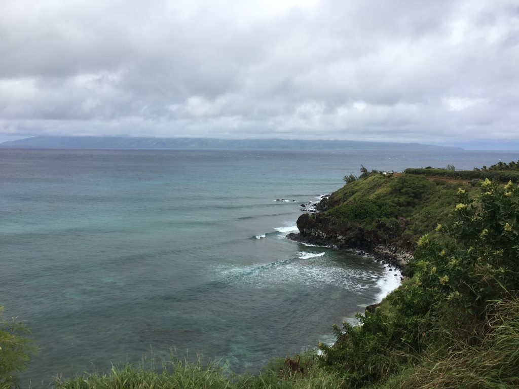 This was next to Honolua Bay.  I need to go snorkeling there some time.