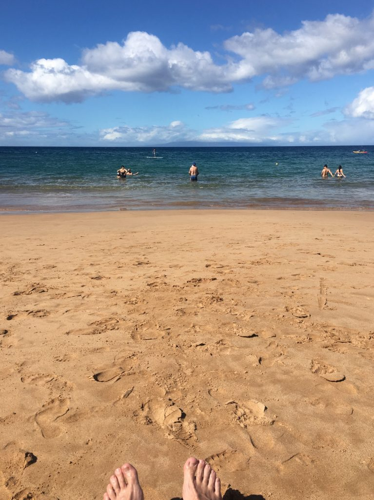 This place is called Wailea Beach.